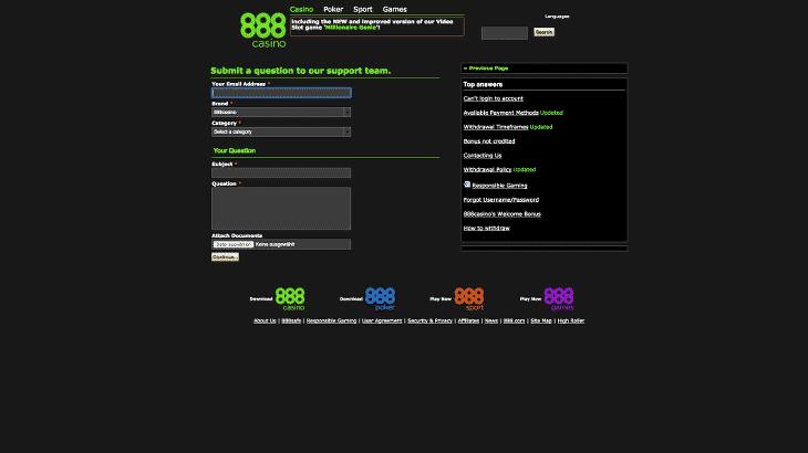 888_casino_kontakt