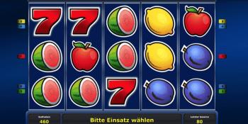 Fruits 'n Sevens der fruchtige Mix mit Zahl