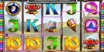 Wizard of Odds mit Jackpot
