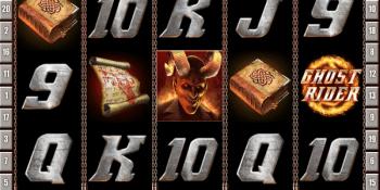 Ghost Rider mit Jackpot