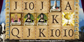 Spieler wird zum Millionär am Spamalot-Slot