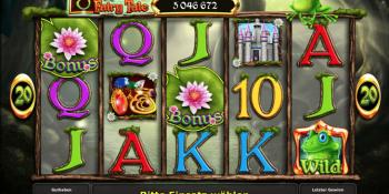 Der Spielautomat Frogs Fairy Tale im Stargames Casino