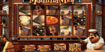 Der Spielautomat Mamma Mia im Interwetten Casino