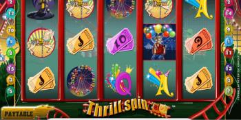 Der Spielautomat Thrill Spin im IW Casino