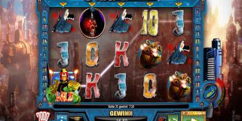 Der Video-Slot Judge Dredd im DrückGlück Casino