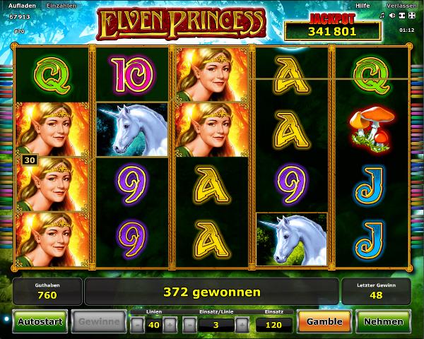 Novoline_Elven_Princess_Spielautomat