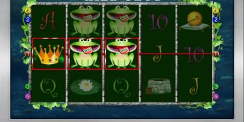 Der Wild Frog Spielautomat im Sunmaker Casino