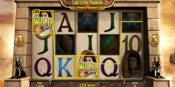 Der Cleopatra Last of the Pharaohs Spielautomat im Stargames Casino