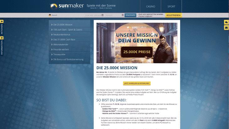 sunmaker_casino_aktionen