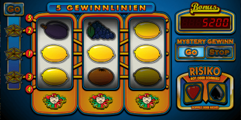 Der 5 Line Multiplay Spielautomat im Stargames Casino