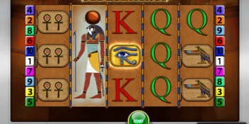 Der Eye of Horus Spielautomat im Sunmaker Casino