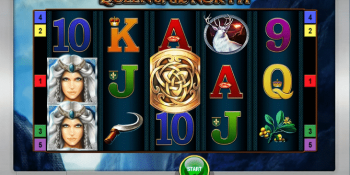 Der Spielautomat Queen of the North im Sunmaker Casino