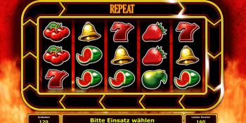 Der Spielautomat Red Hot Repeater im Stargames Casino