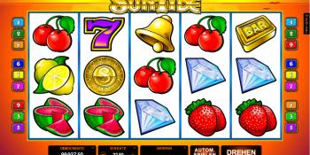 Der Spielautomat Sun Tide im  CherryCasino