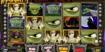 Der The Ghouls Spielautomat mit Jackpot