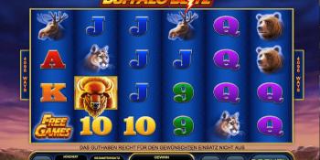 Buffalo Blitz von Playtech