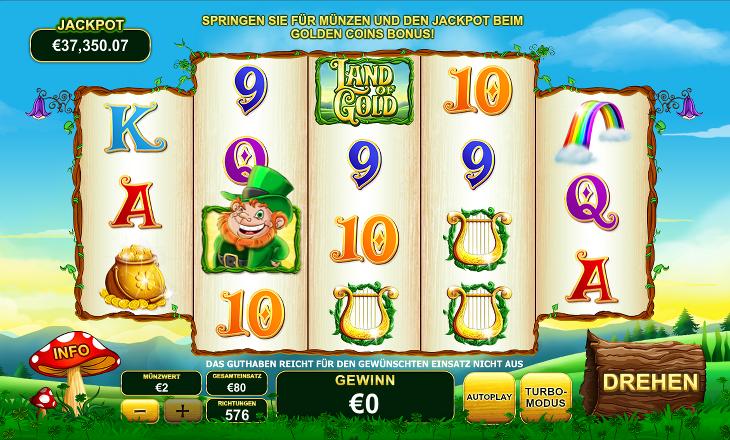 Playtech_Land_of_Gold_Spielautomat