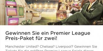 Premier League Preis-Paket im Mr Green Casino zu gewinnen