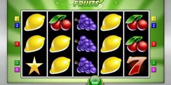 Cash Fruits Plus von Merkur