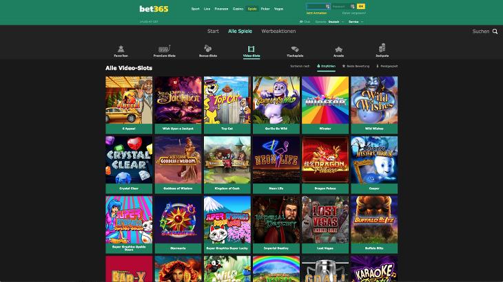 bet365_casino_spielautomaten