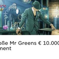 Im Mr Green Casino gibt es ein 10.000€ Experiment