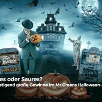 Halloween im Mr Green Casino