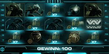 Aliens von Net Entertainment