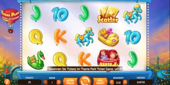 Theme Park: Tickets of Fortune von Net Entertainment