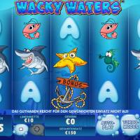 Wacky Waters von Playtech