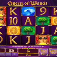 Queen of Wands von Playtech