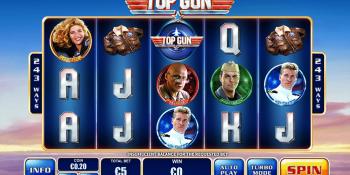Top Gun von Playtech