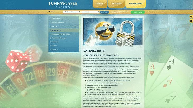 sunnyplayer_casino_datenschutz