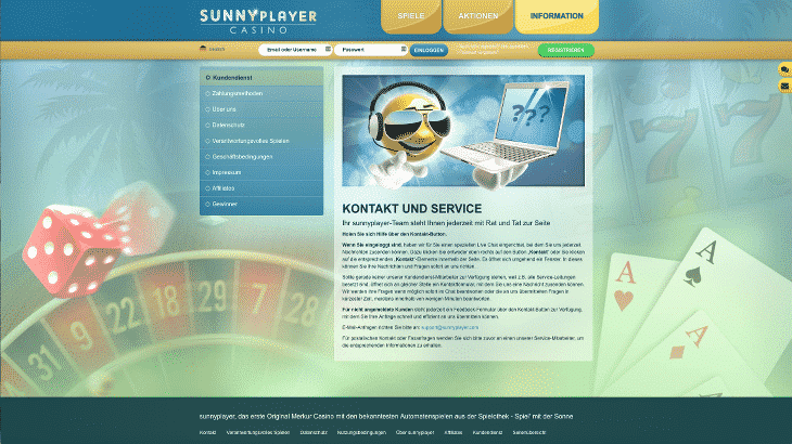 sunnyplayer_casino_kontakt