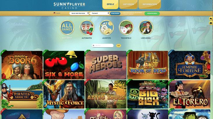 sunnyplayer_casino_spiele