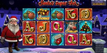 Santa's Super Slot mit Jackpot
