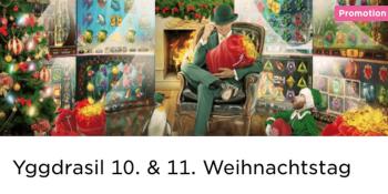 Der 10. und 11. Weihnachtstag im Mr Green Casino