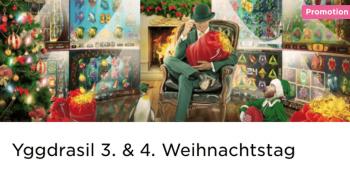 Der 3. und 4. Weihnachtstag im Mr Green Casino