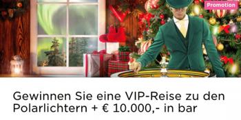 Im Mr Green Casino kann man einen VIP-Trip nach Finnland gewinnen