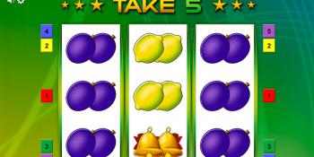 Take 5 Spielautomat von Bally Wulff