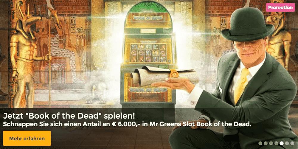book of dead mr green