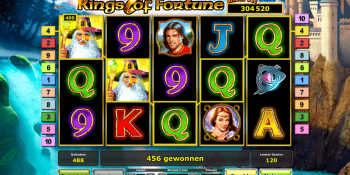 Rings of Fortune mit Jackpot