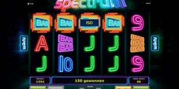 Spectrum Slot von Novoline