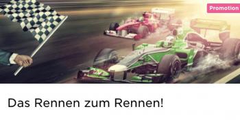 Im Mr Green Casino gibt es ein Rennen zum Rennen