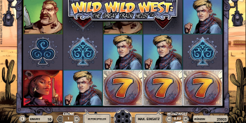 Wild Wild West von Net Entertainment