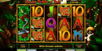 Snake, Rattle & Roll mit Jackpot