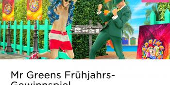 Das Frühjahrs-Gewinnspiel im Mr Green Casino