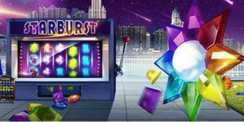 Spiele Starburst und gewinne bis zu 100.000 Euro
