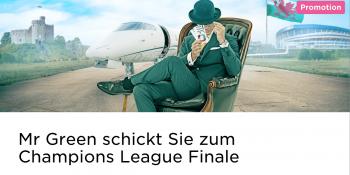 Im Mr Green Casino Tickets für das Champions League Finale gewinnen
