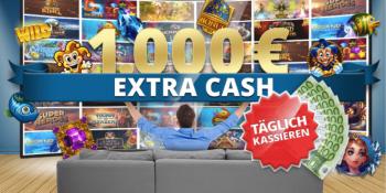 Täglich 1.000 Euro Extra Cash im Sunmaker Casino gewinnen