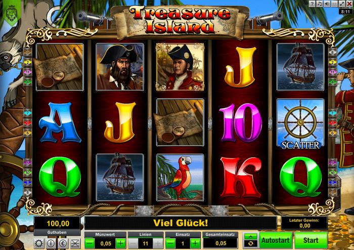 Treasure Island Löwen Play